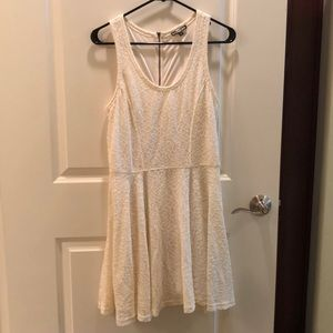 Off white Express skater dress